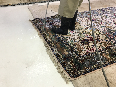 Rug Fringe Cleaning Process Palm Beach